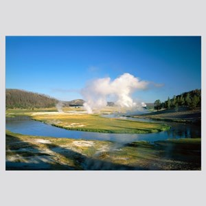 Wyoming, Yellowstone National Park, Midway Geyser