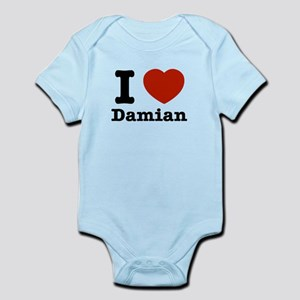 I love Damian Infant Bodysuit