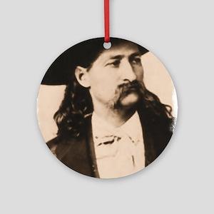 Wild Bill Hickok Ornament (Round)