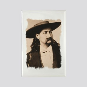 Wild Bill Hickok Rectangle Magnet