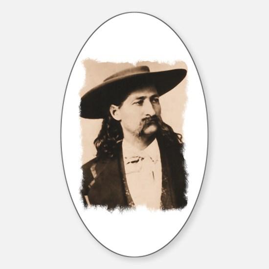 Wild Bill Hickok Oval Decal