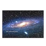 Andromeda Galaxy Postcard (Package of 8)