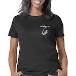 6x6_shirt_pocket_white Women's Classic T-Shirt