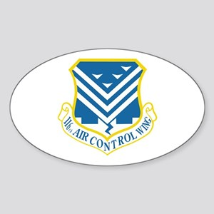 116th Air Control Wing Sticker (Oval)