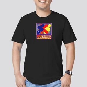 The LOST MARBLES Are 'OK' Men's Fitted T-Shirt (da