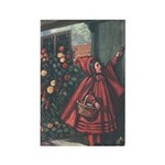 Cole's Red Riding Hood Rectangle Magnet (10 pack)