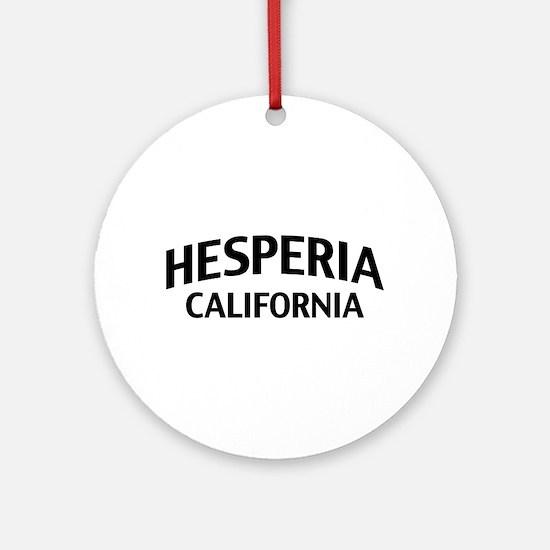 Hesperia California Ornament (Round)