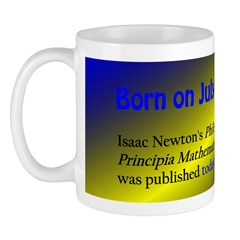 Mug: Isaac Newton's Philosophiae Naturalis Pri