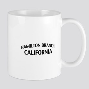 Hamilton Branch California Mug