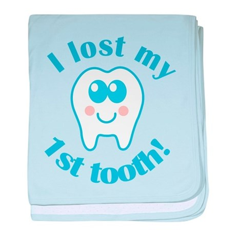 I Lost My 1st Tooth baby blanket