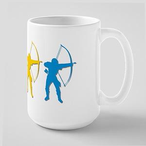 Archery Archers Large Mug