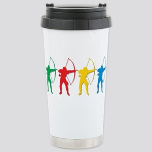Archery Archers Stainless Steel Travel Mug