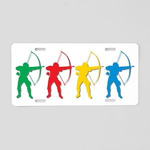 Archery Archers Aluminum License Plate