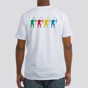 Archery Archers Fitted T-Shirt