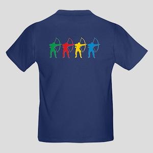 Archery Archers Kids Dark T-Shirt