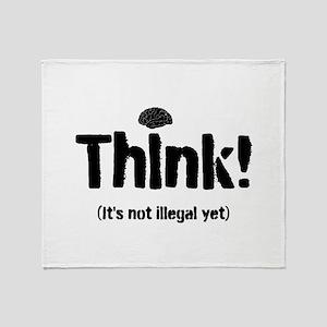 Think! Throw Blanket