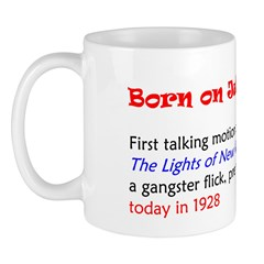 Mug: First talking motion picture, The Lights of N