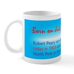 Mug: Robert Peary set sail for the Arct