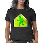 aliencrossingwht Women's Classic T-Shirt