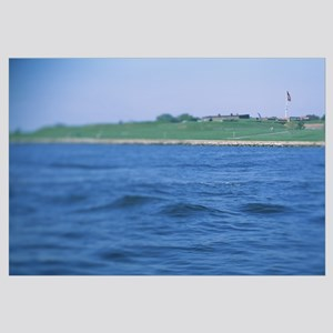 Fort at the waterfront, Fort McHenry, Baltimore, M