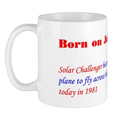 Mug: Solar Challenger became the first Solar-power