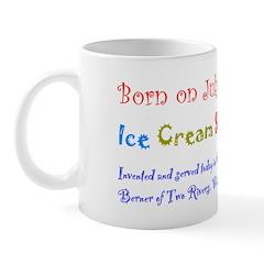 Mug: Ice Cream Sundae Day Invented and served toda
