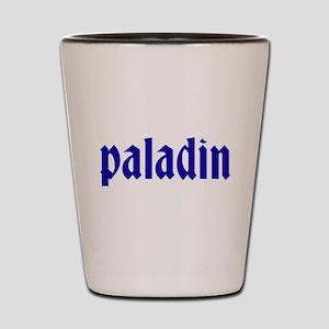 Paladin Shot Glass