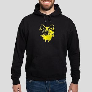 Vector Wolf Hoodie (dark)