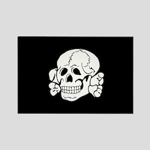 Totenkopf SS WW2 Rectangle Magnet (10 pack)