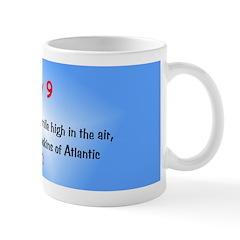 Mug: First airplane flew a mile high in the air, p