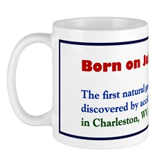 Mug: First natural gas well in the US was discove