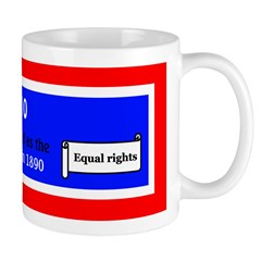 Mug: Wyoming was admitted as the 44th U.S. state t