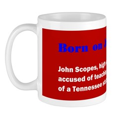 Mug: John Scopes, high school teacher, was accused