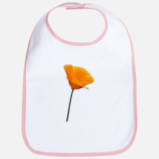 California Poppy Bib