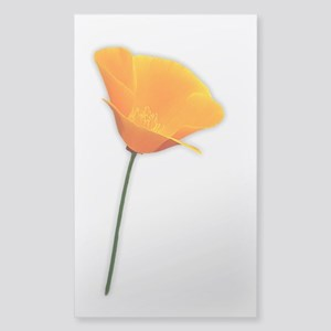 California Poppy Sticker (Rectangle)