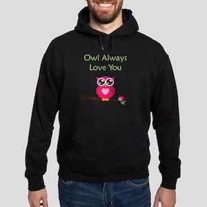Owl Always Love You Hoodie (dark)