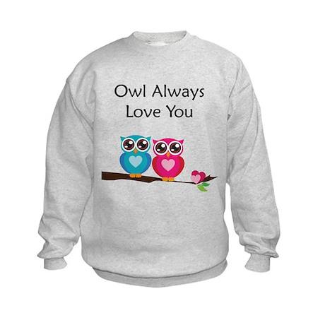 Owl Always Love You Kids Sweatshirt