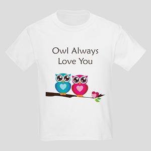 Owl Always Love You Kids Light T-Shirt