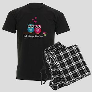 Owl Always Love You Men's Dark Pajamas