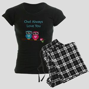 Owl Always Love You Women's Dark Pajamas