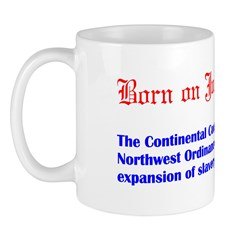Mug: Continental Congress enacted the Northwest Or