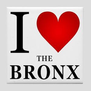 I Love the Bronx Tile Coaster