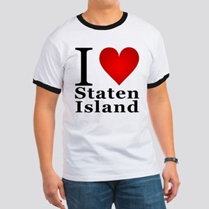 I Love Staten Island Ringer T
