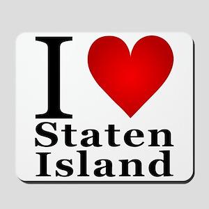 I Love Staten Island Mousepad