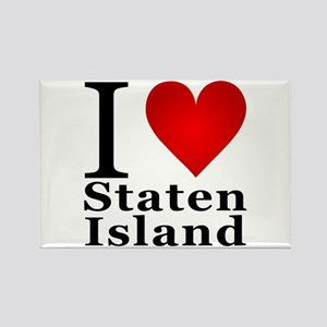 Staten island gifts cafepress i love staten island rectangle magnet negle Images