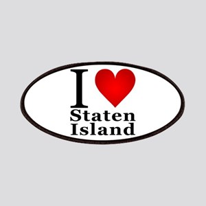 I Love Staten Island Patches