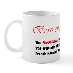 Mug: Marseillaise, written by Rouget De Lisle, was