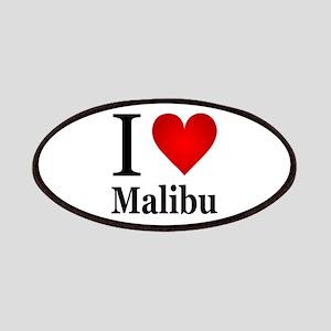 I Love Malibu Patches