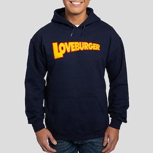Loveburger Hoodie (dark)