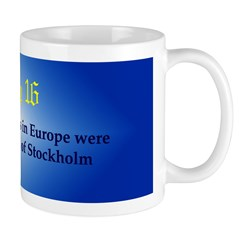 Mug: First banknotes in Europe were issued by the